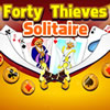 play Forty Thieves Solitaire