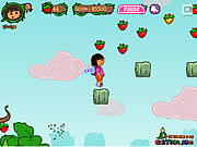 play Dora - Strawberry world